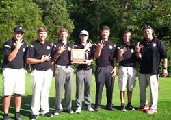 Lions three-peat in SBAAC golf