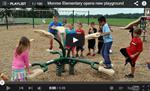 Monroe Elementary opens new playground