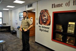 Officer Kidder praised by school officials