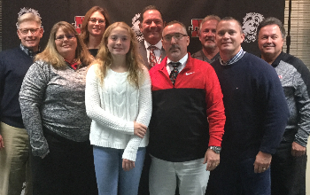 New Richmond Board of Education recognizes Ellie Arkus
