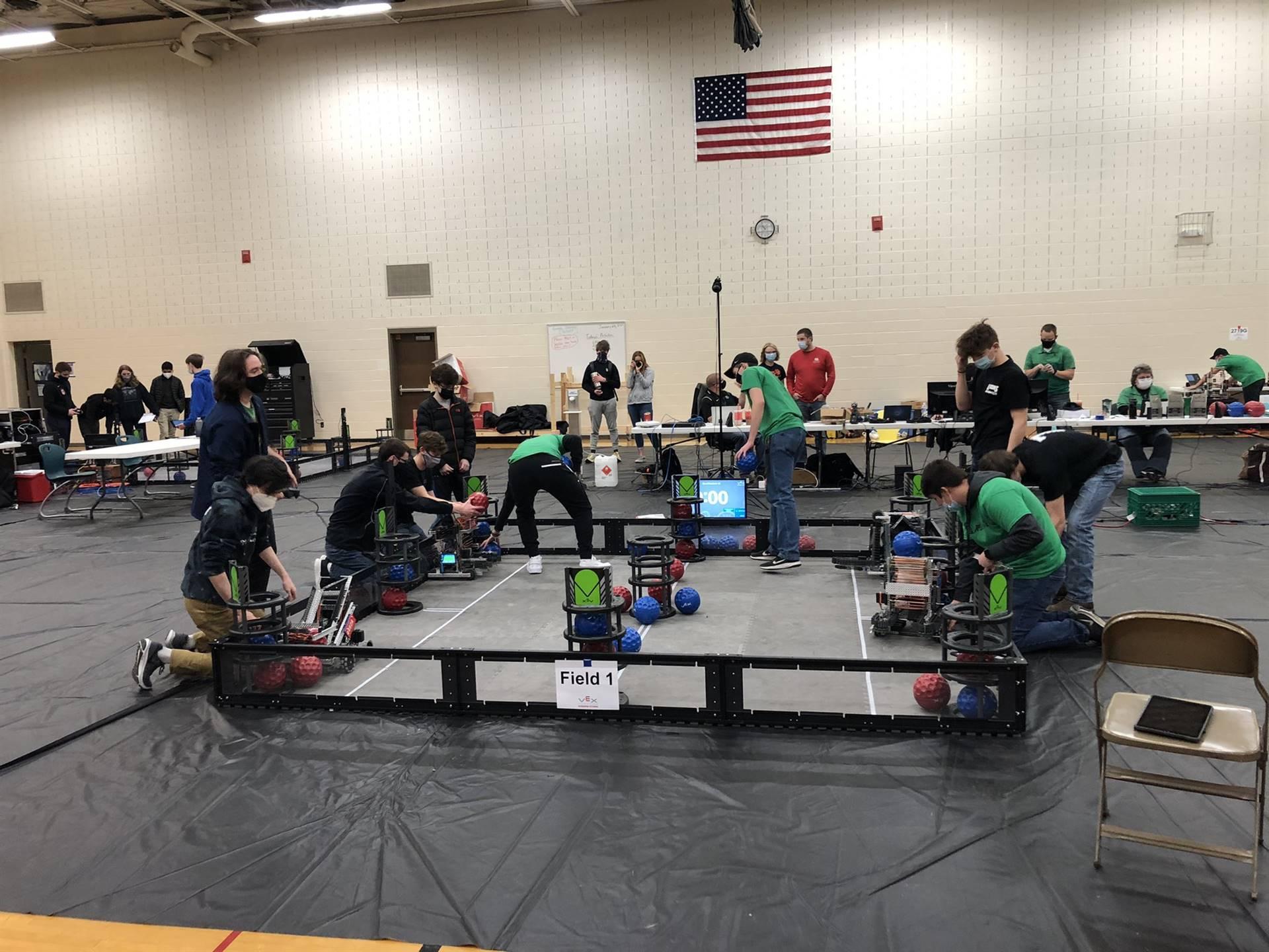 Robotics competition 2021