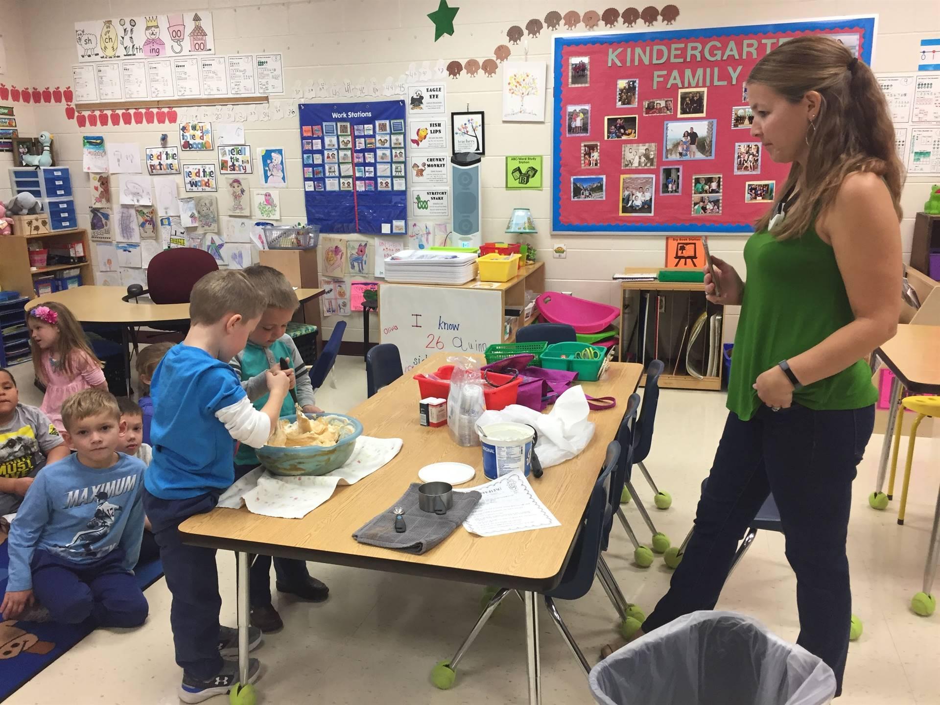 Kindergarten Hands-On Lessons