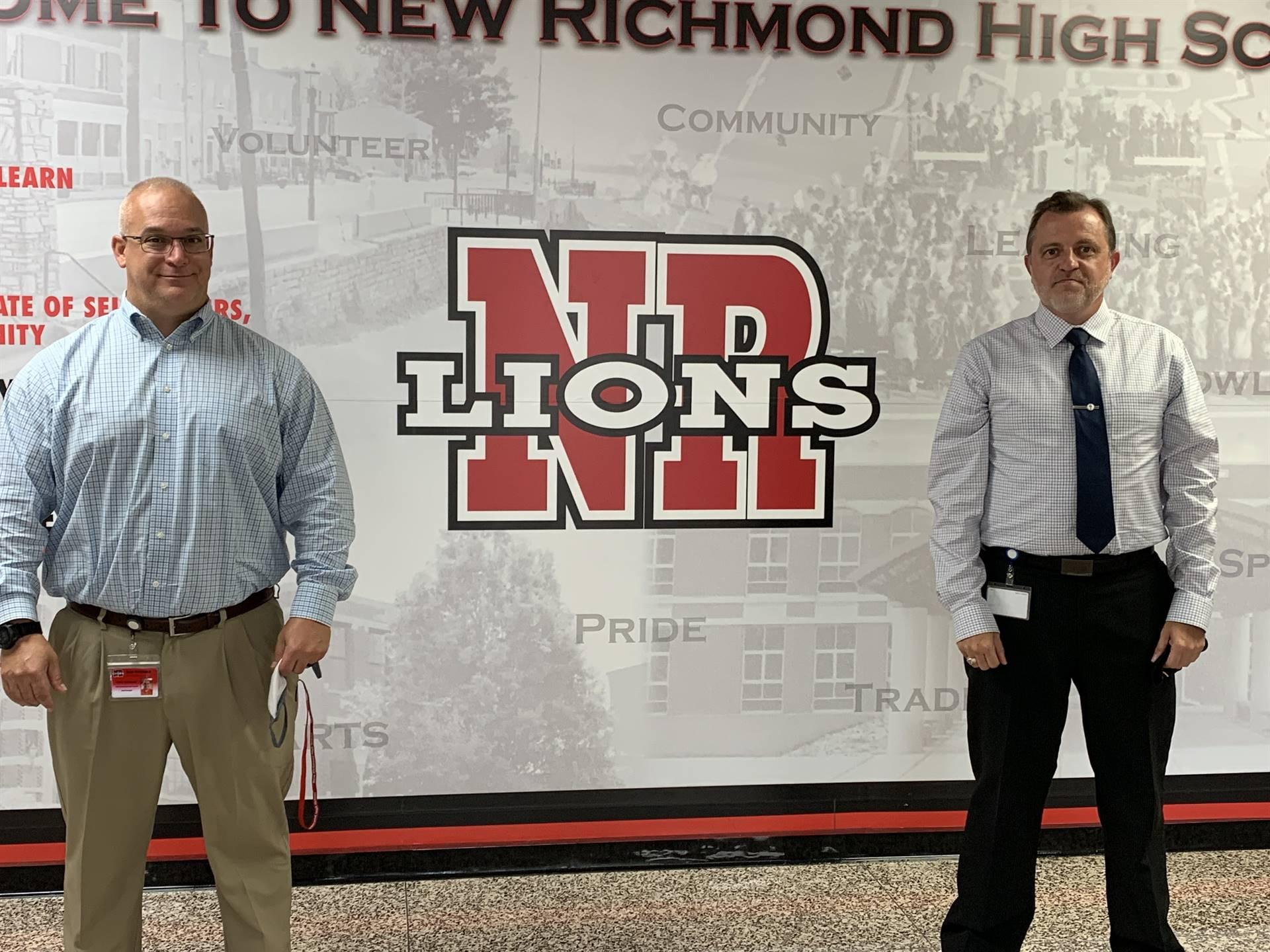 New Assistant Principal and Principal