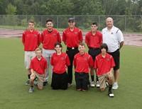 2017 Lions golf team